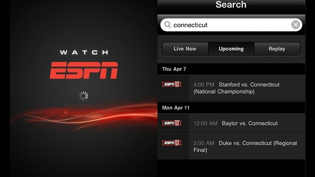 WatchESPN App for iOS Lets Time Warner and Verizon Subscribers Watch ESPN Anywhere