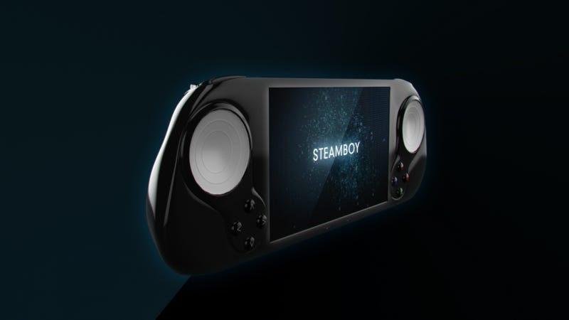 Meet SteamBoy, The Portable Steam Machine