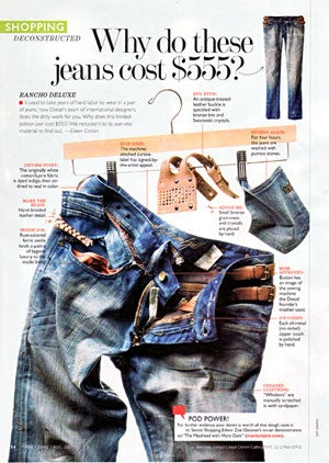 Is A Pair of Jeans 'Ever' Worth $555? 'Marie Claire' Sure Isn't Saying!