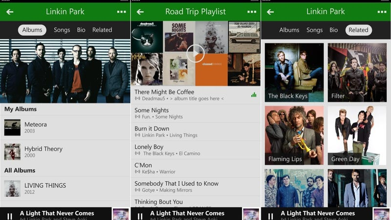 Xbox Music Gets a Huge Design Overhaul Plus New iOS and Android Apps