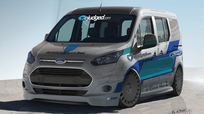 How To Make The Ford Transit Connect Way More Interesting