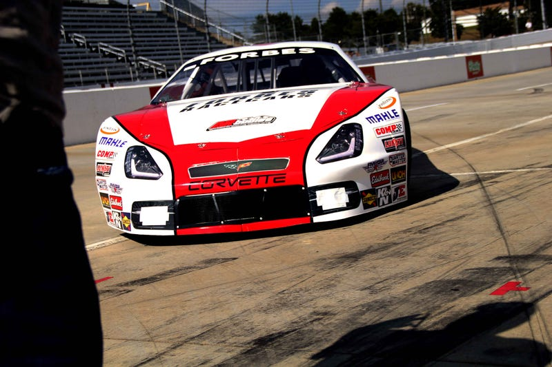Turning a blank Latemodel Stock Car into a Beautiful 2014 Corvette