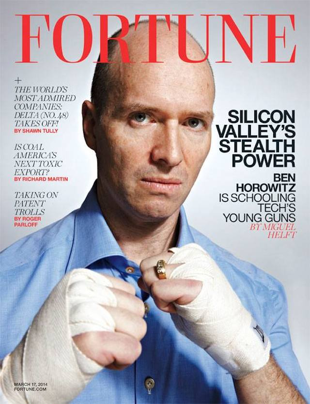 Ben Horowitz: Silicon Valley's Most Powerful Burn Victim