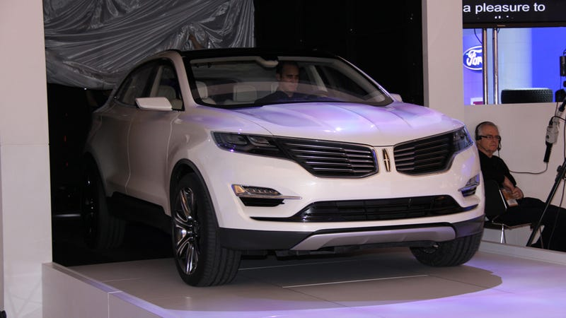 Lincoln MKC: Lincoln Builds A GLK