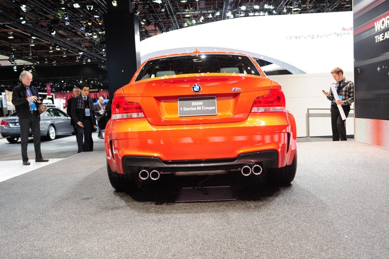 BMW 1 Series M Coupe: Live Photos
