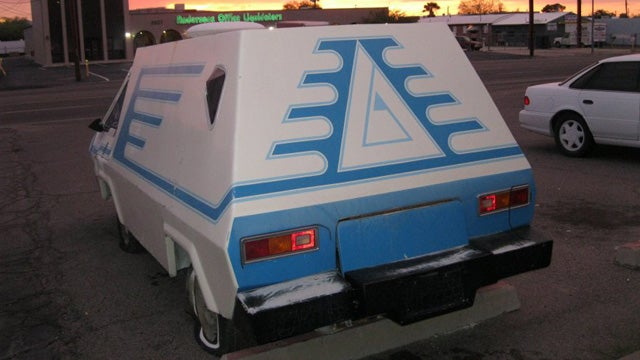 Take A Strange Trip Back In Time With This Custom VW Van