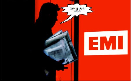 EMI Considering Dropping DRM From Its CDs