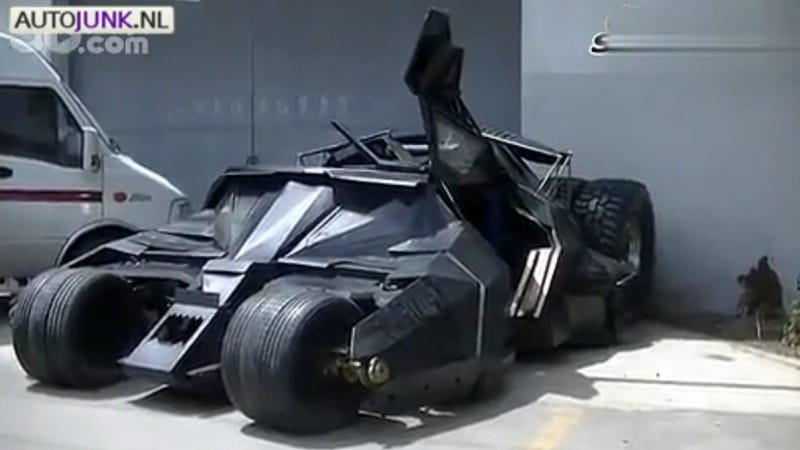 Chinese Knockoff Batmobile Is Just $11,207, Some Assembly Required