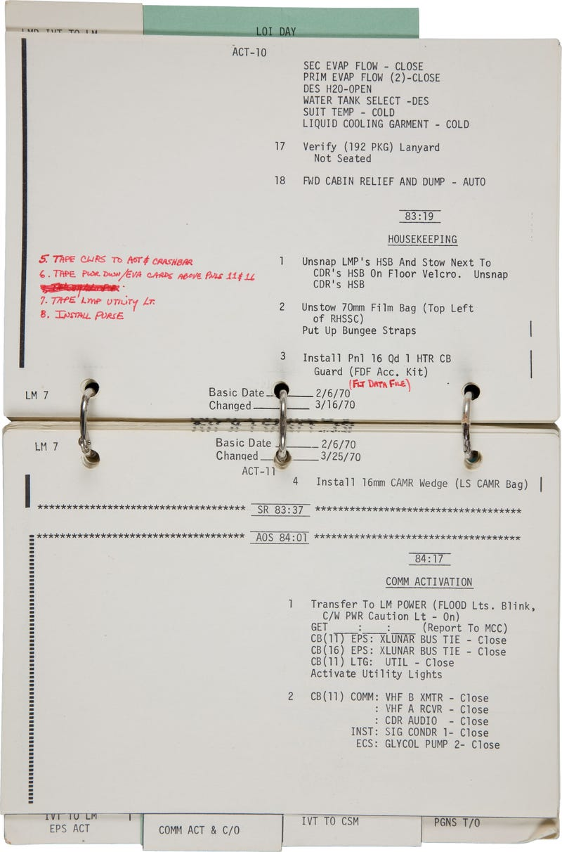 The Math That Saved Apollo 13 Just Sold for $388,375