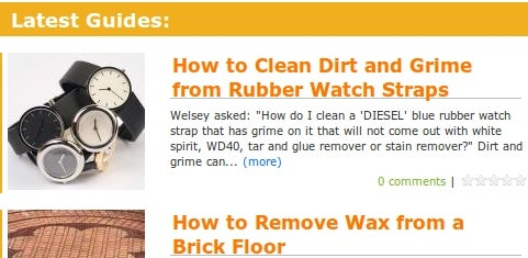 HowToCleanStuff.Net Answers Your Weirder Cleaning Questions