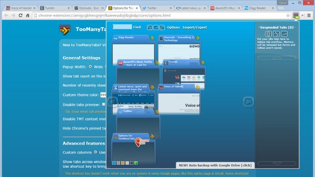 extensiones para Chrome y firefox