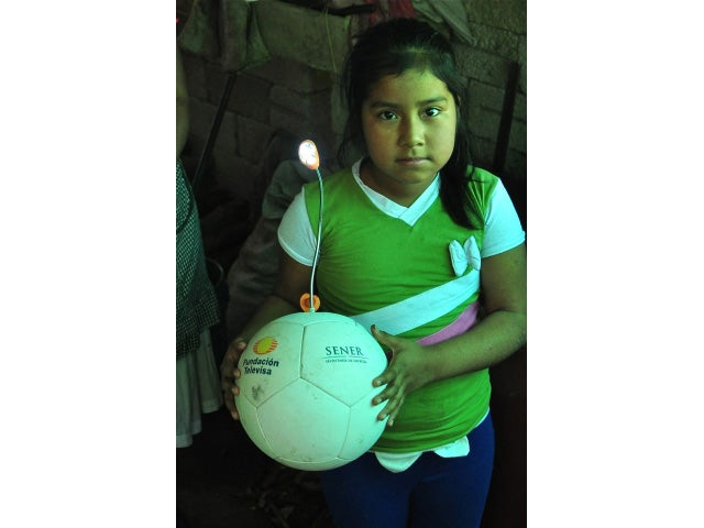 Impoverished Kids Love the Lamp-Powering Soccer Ball—Until It Breaks
