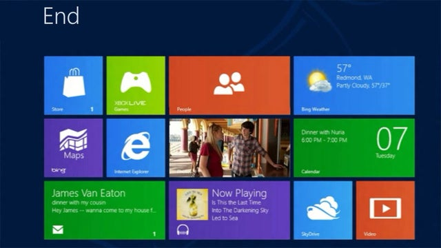 Windows 8 Has Deep Integration With Facebook, Twitter, Google