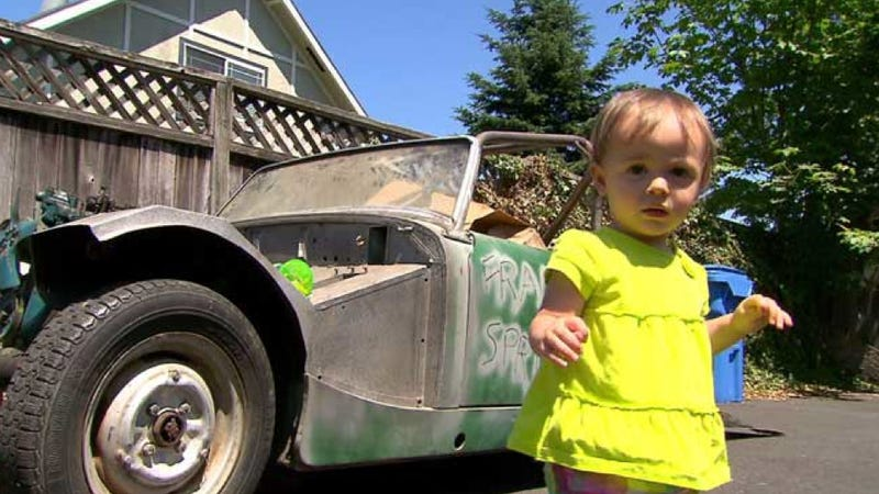 Toddler Accidentally Buys Vintage Car While Playing With Dad's Phone