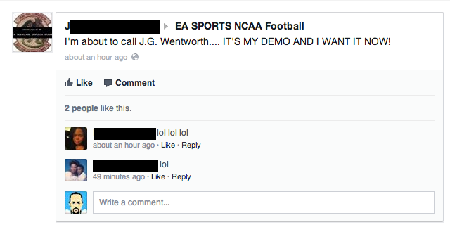 People Flip the Hell Out When the NCAA Football Demo Doesn't Show Up