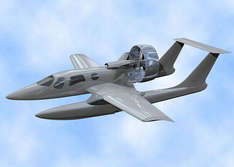 Privateer Hopes to Be Most Ambitious Redesign of Amphibian Aircraft In Past 60 Years