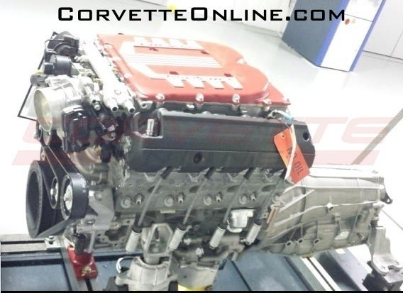 Could This Be The C7 Corvette ZR1's Supercharged Engine?