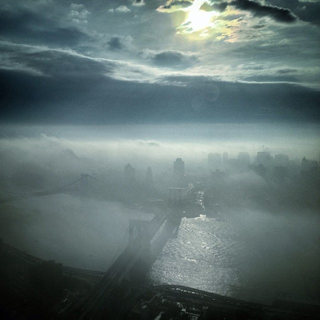 The Fog That Broke New York Subways Was Actually Incredibly Beautiful