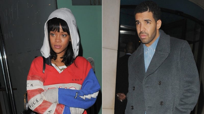 It Looks Like Rihanna and Drake Are Definitely Maybe Back Together