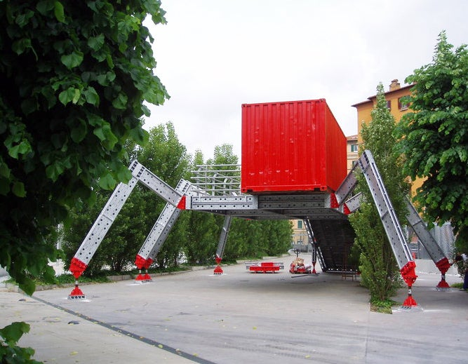 Possibly the Greatest Cargo Container Architecture We've Ever Seen