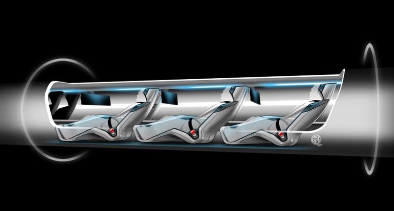 Billionaire Unveils Imaginary Space Train