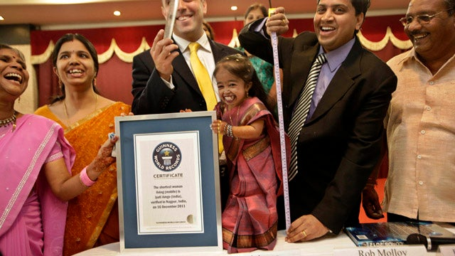 Meet The World's New Shortest Woman