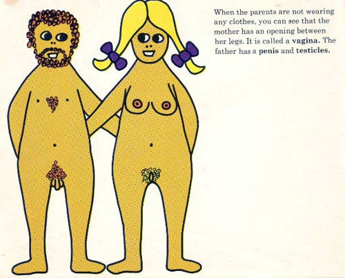 '70s European Children's Book Depicts Penetration, Crowning