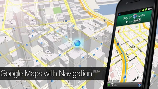 Wouldn't It Be Nice to Have Google Maps Navigation With No Signal Necessary