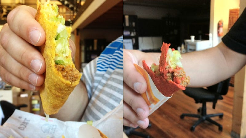 The Cool Ranch Doritos Taco Is Real and Headed Straight For Your Face