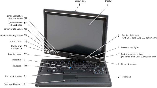 Official Dell Latitude XT Tablet Specs Leaked
