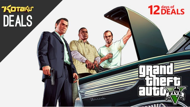 Next Gen Preorders, GTA V Under $40, Great Mobile Games [Deals]
