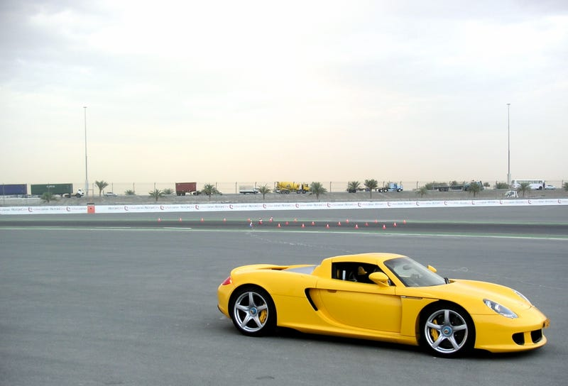 With A Vanity Plate Like This, You Get The Porsche Carrera GT Thrown In For Free