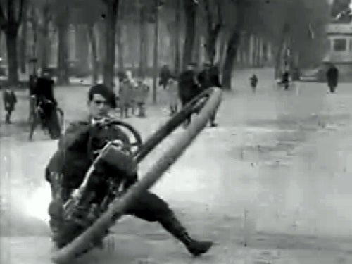 A Monowheel in Pre-War Paris