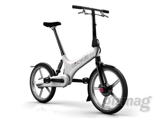 Gocycle Bike Offers Best of Both Worlds for Urban Greenies: It's Folding and Electric