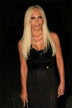 Donatella Versace's Not-So-Gilded Designer Age