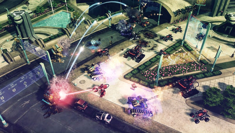 Four Command & Conquer Four Screens