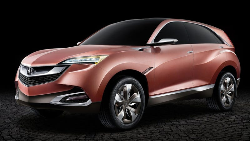 Acura Concept SUV-X Is NSX-Esque And That Ain't Bad