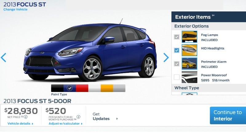 Ford Focus ST: Now With 252 HP, Overboost, And A Free GoPro Camera