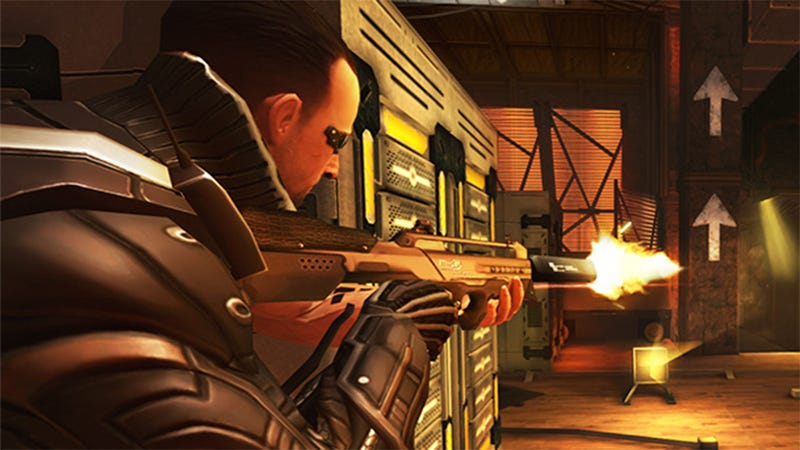 Patch Will Give Jailbroken Deus Ex Players The Ability To Shoot