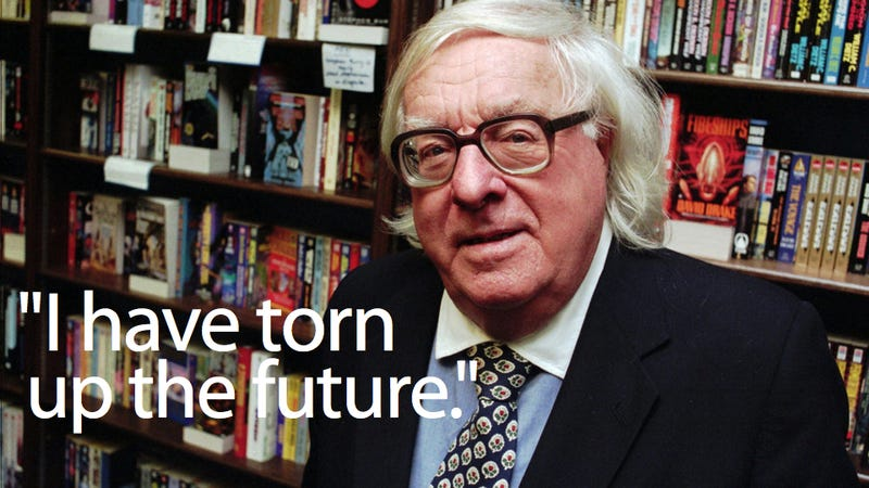 Letters From Ray Bradbury: 'Love what YOU love!'