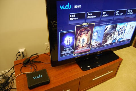 Vudu Video Wonderbox Picture Walkthrough and Review: Just Short of Wonderful