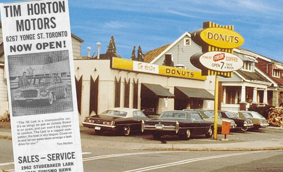 'Tim Hortons' Was A Car Dealership Before It Was A Coffee Shop