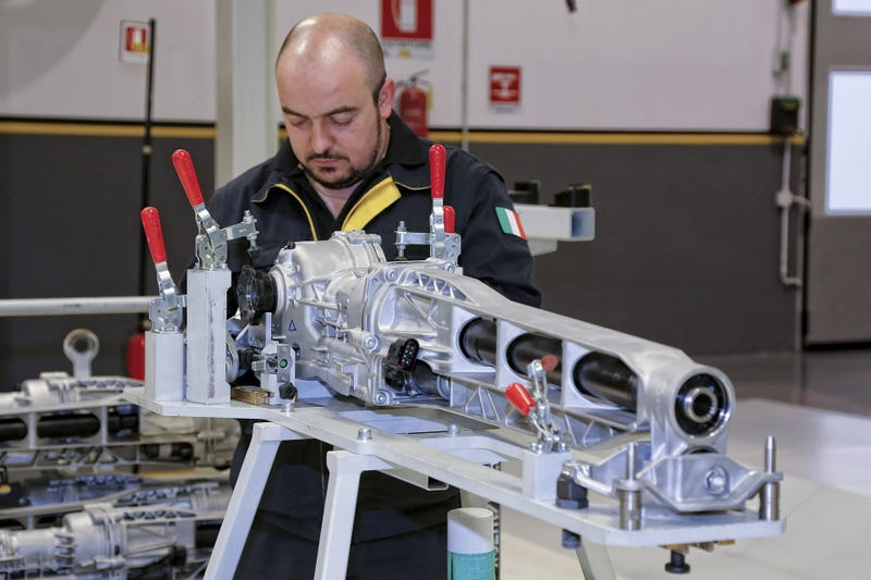 How Lamborghini Builds The Huracan