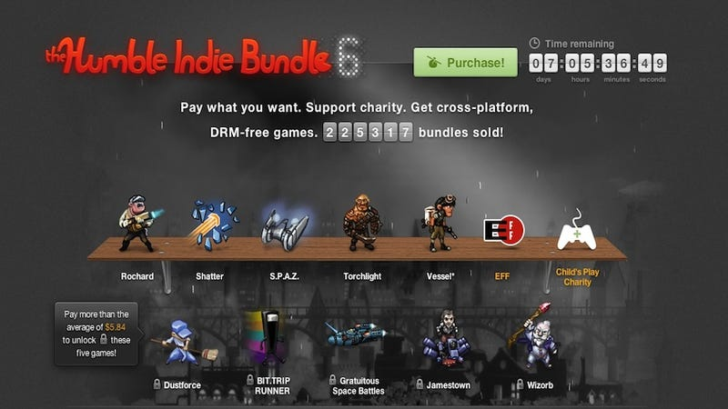 The Latest Humble Bundle Keeps On Getting Bigger