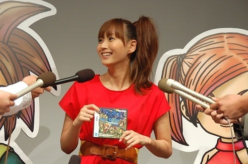Former Morning Musume Member Gets Her Blue Dragon On