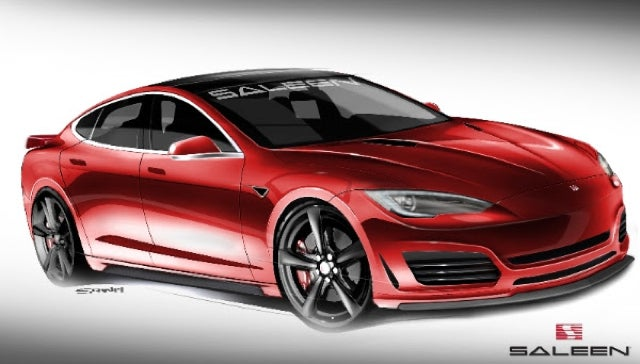 ​Saleen's Tuned Tesla Is Called The FourSixteen