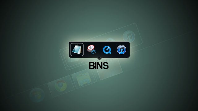 Bins Creates Stacks of Applications in Your Windows 7 Taskbar