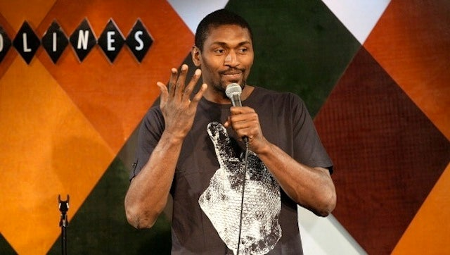 World Peace And Breast Milk: An Evening With Ron Artest, Funny Man