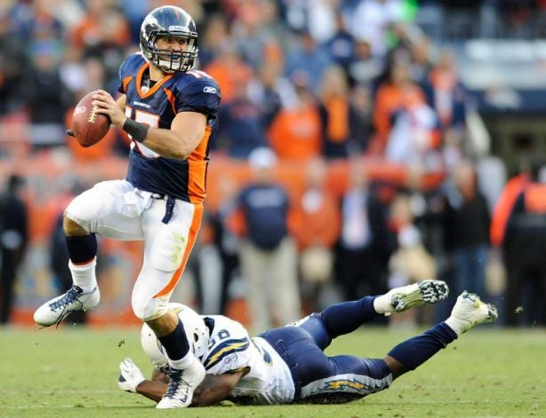 Tim Tebow Gives Us Our First Total QBR Kerfuffle