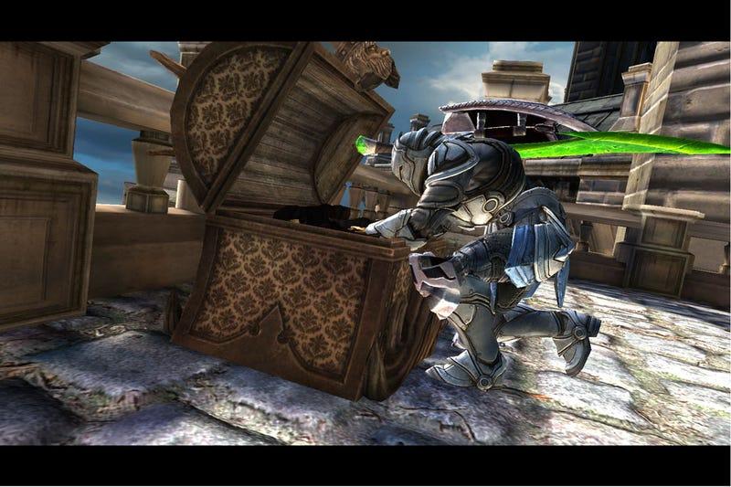Infinity Blade Screens